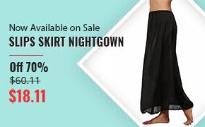 Slips Skirt Nightgown