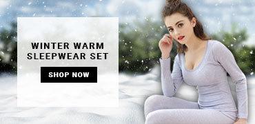 Winter Warm Sleepwear Set