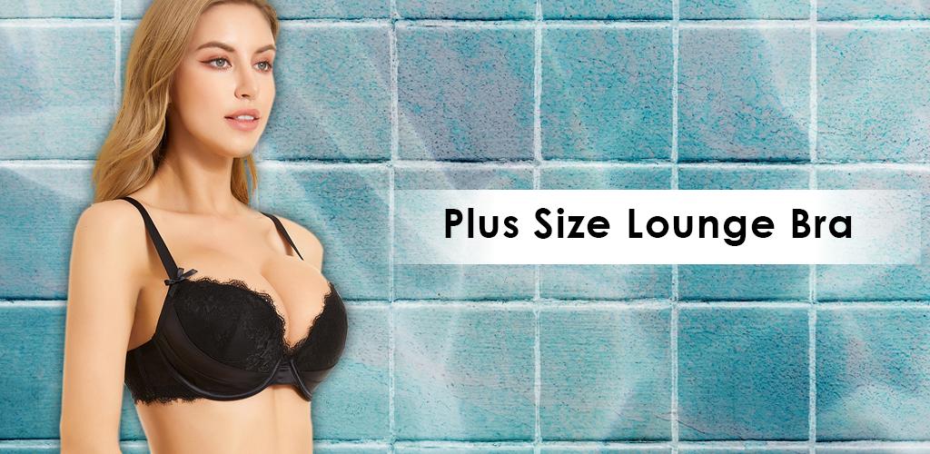 plus size lounge bra