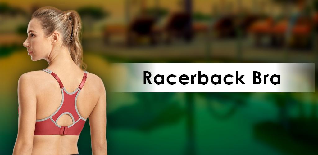 Racerback bra