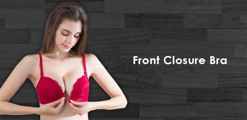 front closure bra